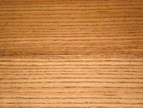 Two grits of sanding and effect on stain.