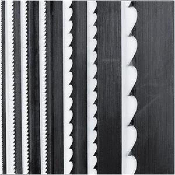 Bandsaw blades with different tooth counts
